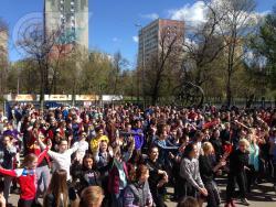 В РГУФКСМиТ состоялся 55-ый юбилейный кросс им. Б.Галушкина и праздник, посвященный Дню Победы.