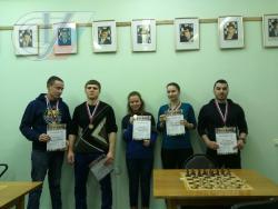 Турнир по шахматам РГУФКСМиТ, поздравляем победителей. Мы сильны не только в реабилитации (27.02.2017)!
