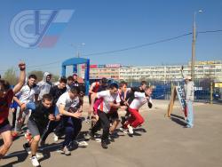 8 мая 2013 г. в РГУФКСМиТ состоялся ежегодный Кросс ко Дню Победы.